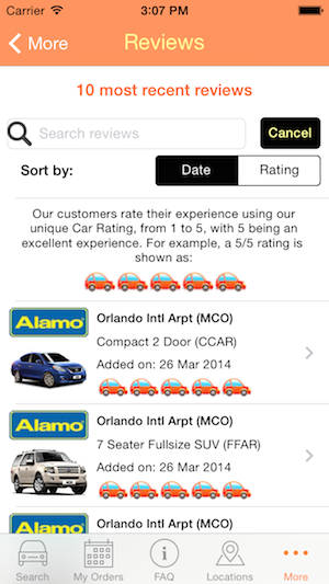 View and search our customer reviews