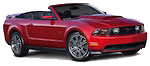 Rent a Ford Mustang convertible in Florida